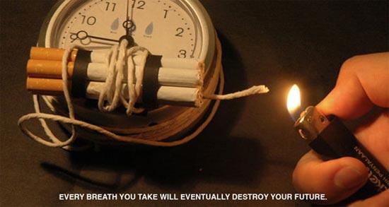 Smoking - time-bomb