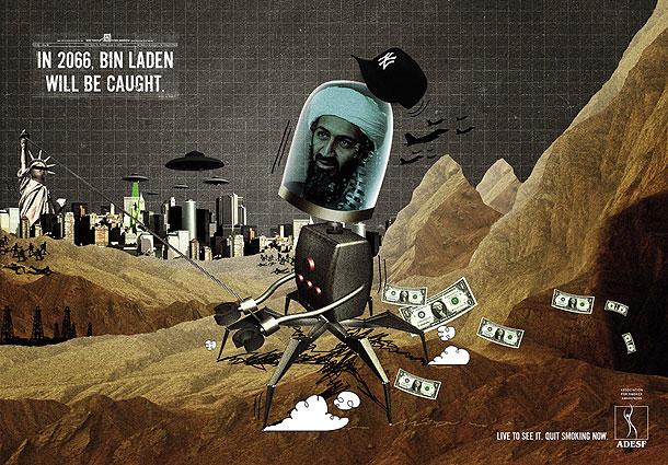 Smoking Bin Laden