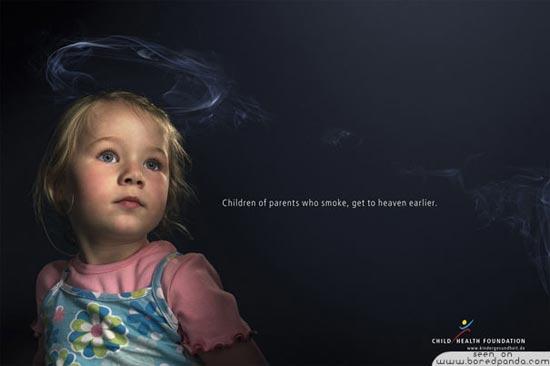 Smoke kills children
