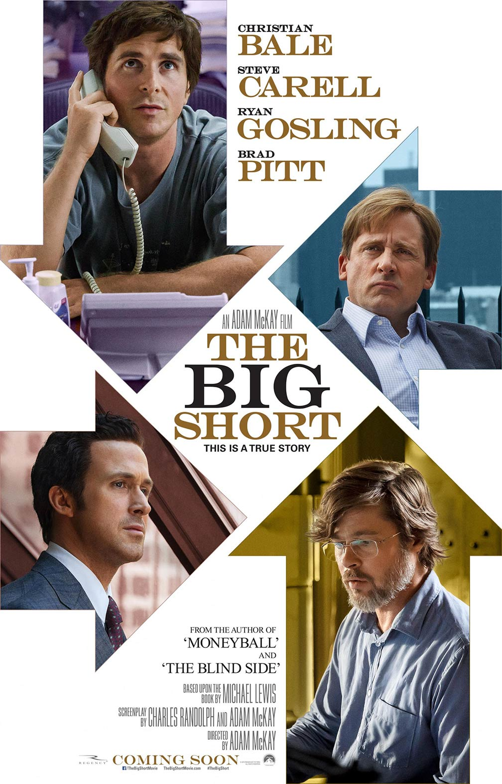 The big short / brokerii apocalipsei poster