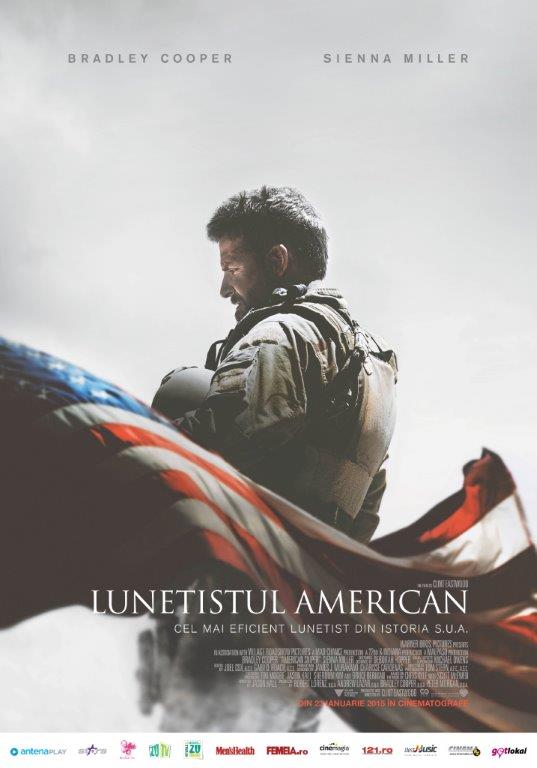 American sniper / Lunetistul american - poster