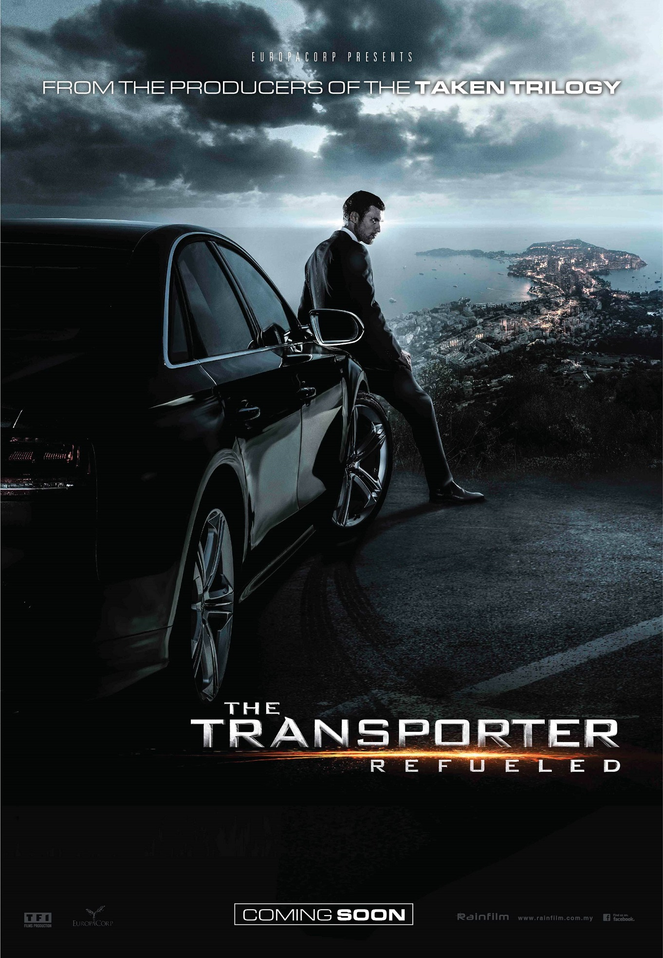Transporter refueled