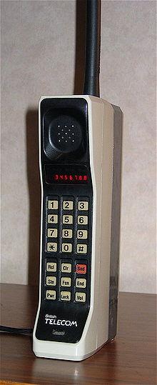 Primul telefon mobil - Motorola DynaTAC