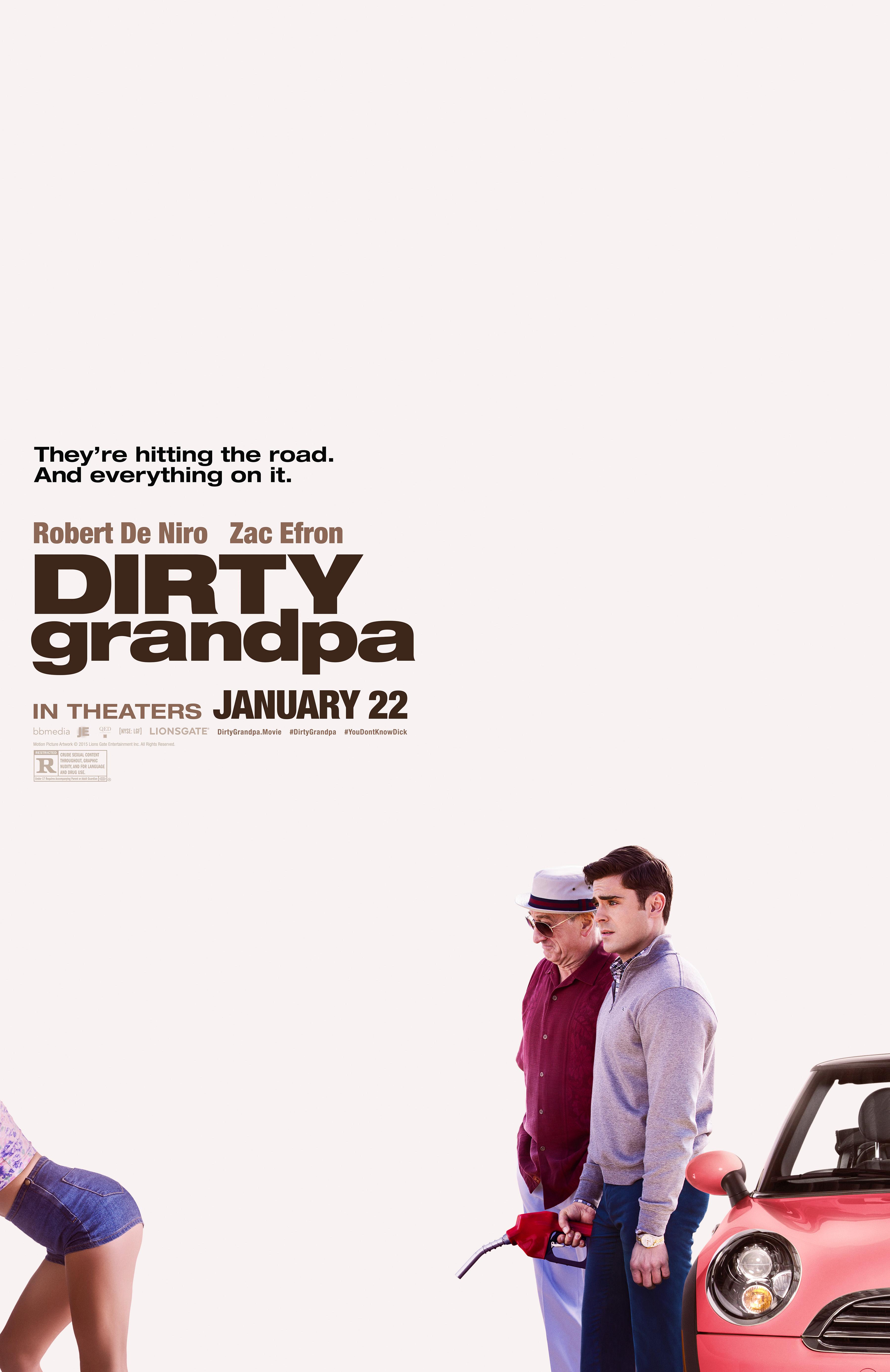 Bunicul dezlănțuit / dirty grandpa poster